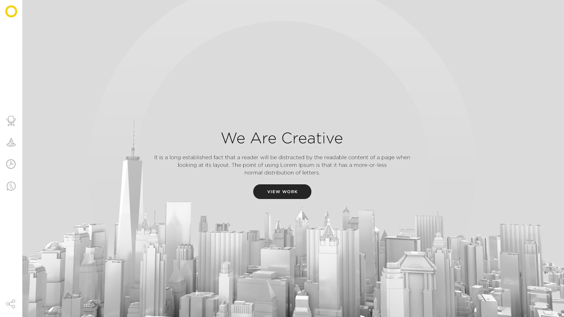 Landing page design by Ruslan Siiz